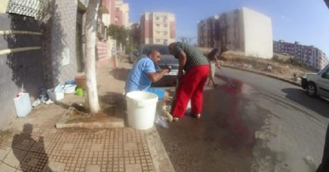 نحر الأضاحي في الشارع العام