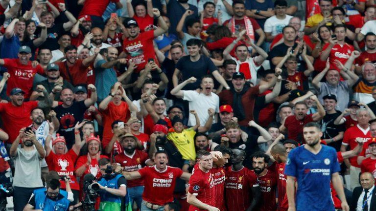 ركلات الحظ تتوج ليفربول بالسوبر الأوروبي