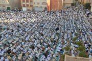 وسط أجواء من البهجة... المكناسيون يؤدون صلاة العيد