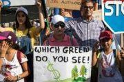 من أجل المناخ.. شباب مغاربة يتظاهرون في الرباط والبيضاء