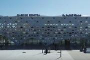 محطة القطار الجديدة بالقنيطرة تنال جائزة عالمية