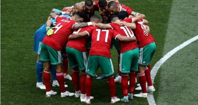 المنتخب المغربي يتقدم في ترتيب