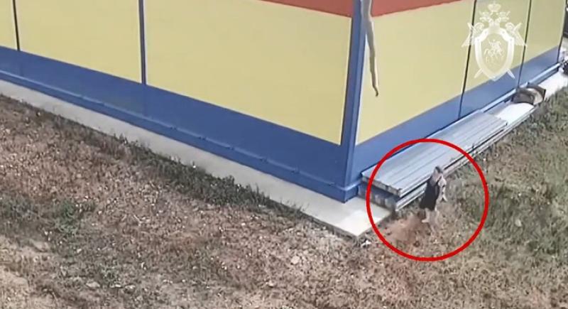 الكاميرا ترصد: امرأة تضع رضيعها في كيس بلاستيكي وتتركه في مكان مهجور(فيديو)