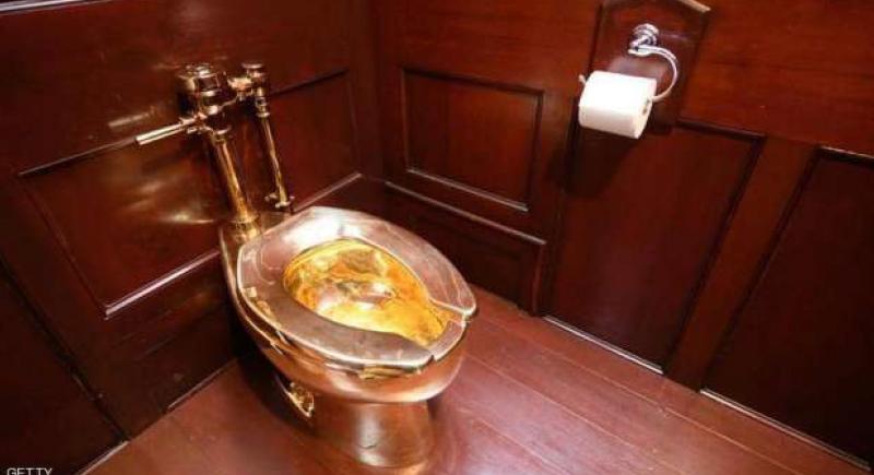 سرقة غريبة.. اختفاء مرحاض من الذهب بمليون إسترليني من داخل قصر إنجليزي