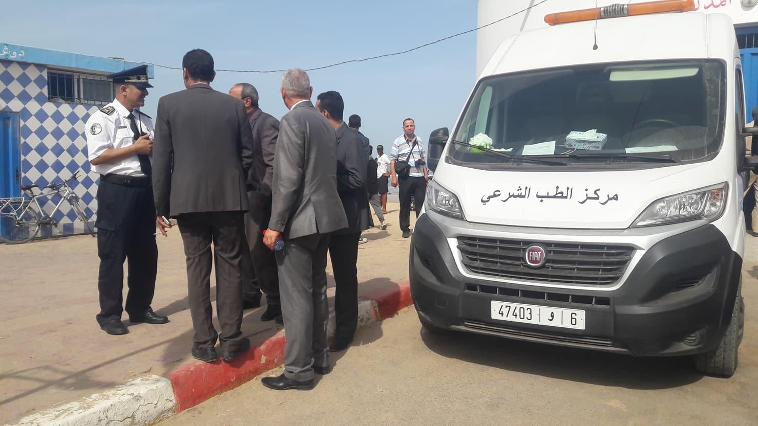 ''فاجعة زناتة''.. نقل الجثث إلى مستودع الأموات وسط حالة حزن وصدمة