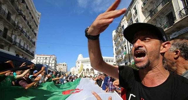 احتجاجات الطلبة في الجزائر: