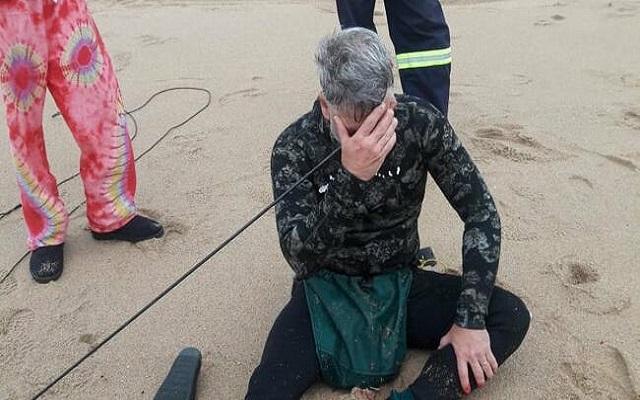 غواص ذهب ليصطاد في البحر فاصطاد نفسه