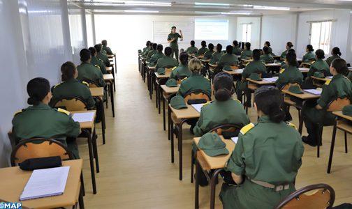 الخدمة العسكرية.. 150 مجندة يستفدن من التكوين بتمارة