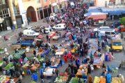 سلطات القنيطرة تواصل حملة تحرير المك العمومي بشوارع المدينة