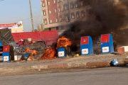 ساكنة فاس تستنكر حرق الحاويات بأحد أحياء المدينة