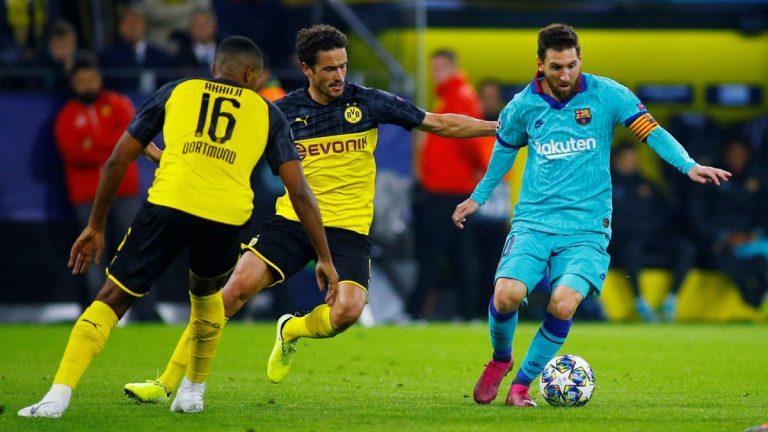 دوري الأبطال.. برشلونة يفلت بالتعادل من كمين دورتموند