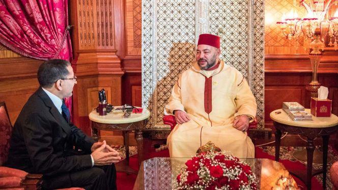 الملك يستفسر العثماني حول تقدم تفعيل توجيهات