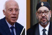 شكر وتقدير من الرئيس التونسي الجديد للملك