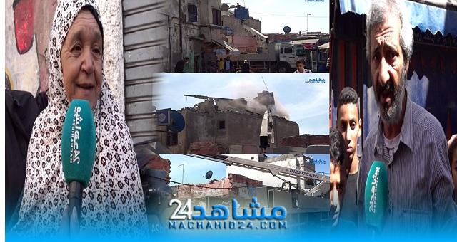 بالفيديو.. سكان المدينة القديمة يكشفون معاناتهم مع مباني تحولت إلى مأوى للمشردين