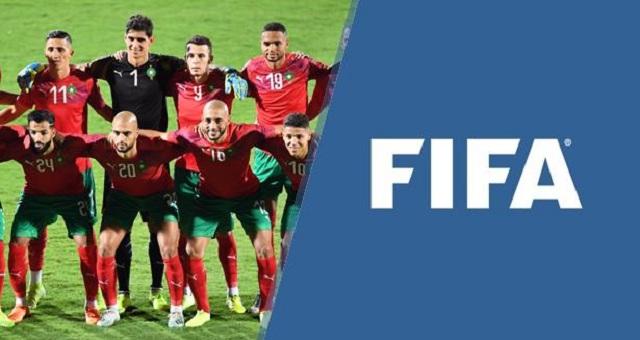 المنتخب المغربي يتقدم بـ4 مراتب في تصنيف