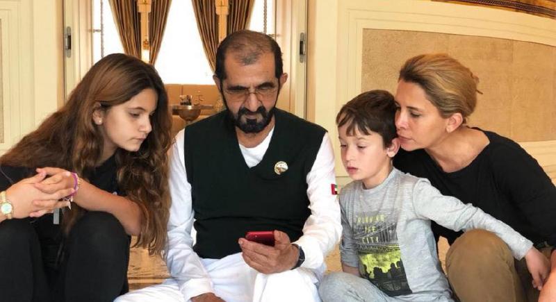 منذ هروبها من الإمارات .. جلسة أولية بين الأميرة 'هيّا' وحاكم دبي حول حضانة الأطفال