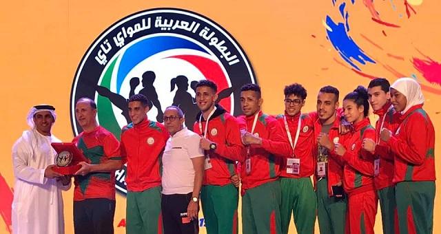 المنتخب المغربي يتوج بلقب البطولة العربية للـ