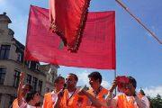 جمعيات مغاربة أوروبا تدين تدنيس العلم الوطني بباريس