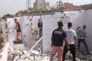 سلطات سلا تشن أكبر عملية لإزالة دور الصفيح بالمدينة