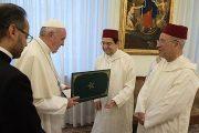 رسالة من الملك محمد السادس إلى البابا فرانسيس