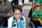 بالفيديو.. مشجعون من ذوي الاحتياجات الخاصة: