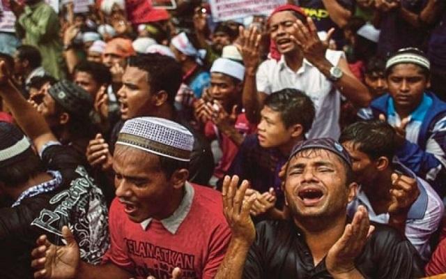 إسرائيل تعلن تضامنها مع المجرمين مرتكبي إبادة المسلمين في ميانمار