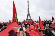 باريس.. مغاربة أوروبا ينددون بإهانة العلم الوطني