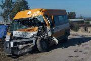 تاونات.. إصابة 16 تلميذاً في حادث مروع (فيديو)