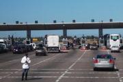 توقف مؤقت لحركة السير بالطريق السيار في هذه المنطقة