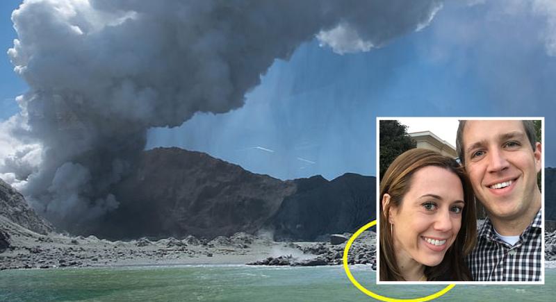 بركان يحول شهر عسل إلى مأساة