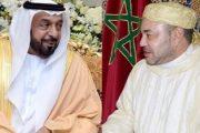الملك يهنئ رئيس دولة الإمارات بالعيد الوطني لبلاده