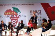 تأثيرات شبكات التواصل الاجتماعي تجمع الشباب الإفريقي بالرباط