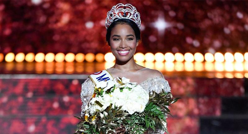 هجوم عنصري على ملكة جمال فرنسا (فيديو)