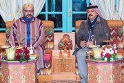 الملك محمد السادس يجري لقاء وديا بالرباط مع ملك البحرين