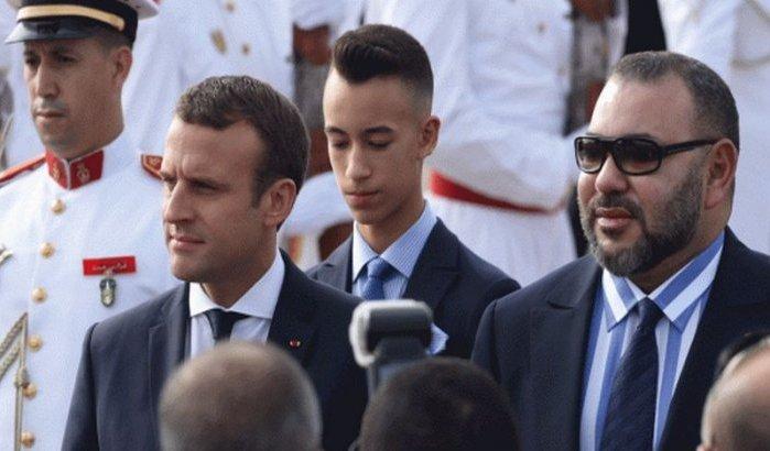 عشية مؤتمر برلين.. الملك يتباحث مع ماكرون حول الأزمة الليبية
