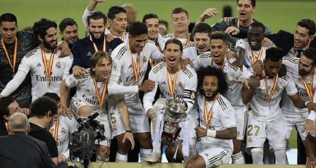 رسميا.. ريال مدريد يخفض رواتب لاعبيه بسبب أزمة كورونا