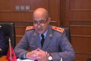 المفتش العام للقوات المسلحة الملكية يتباحث مع مسؤول بارز في
