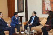 العثماني يجري مباحثات مع وزيرة الشؤون الخارجية الإسبانية