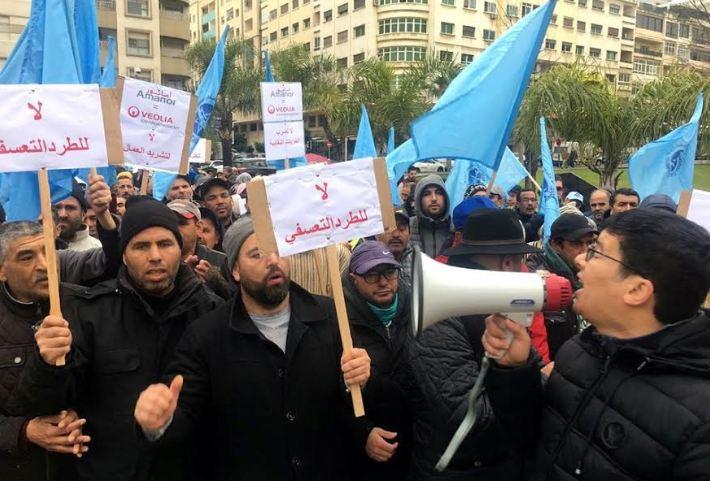 طرد قيادي نقابي من شركة بطنجة يؤجج غضب رفاق موخاريق