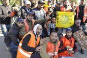 عمال حافلات الكرامة بالقنيطرة يحتجون لصرف مستحقاتهم