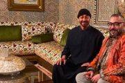 الملك يزور ولي عهد أبو ظبي في مقر إقامته بالمغرب