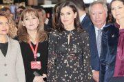 ملكة إسبانيا تزور رواق المغرب بمعرض