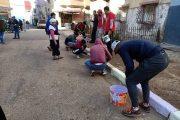 ساكنة أحياء بسلا تطلق حملة للتزيين والرسم على الجدران