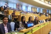 """نيويورك : نحو 170 طالب مغربي يستفيدون من برنامج """"سفراء شباب بالأمم المتحدة"""""""