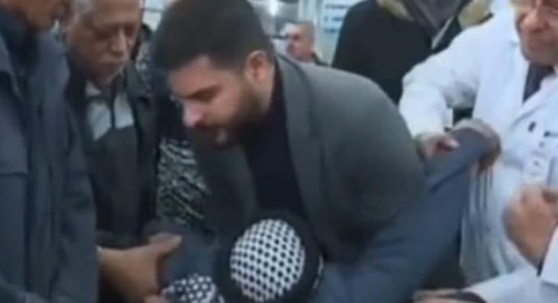 فيديو صادم .. عراقي يموت على الهواء مباشرة خلال نقل معاناته للمسؤولين