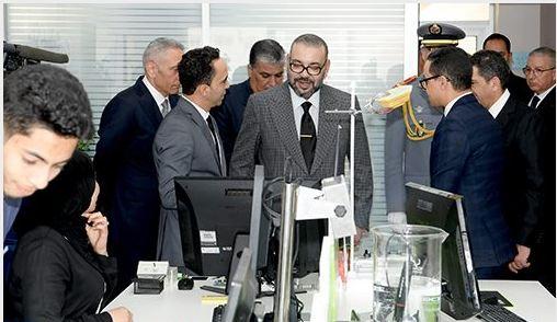 الملك محمد السادس يدشن مدينة الابتكار سوس -ماسة