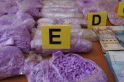 وجدة.. حجز كمية كبيرة من مخدر الإكستازي ومبالغ مالية مهمة (صور)