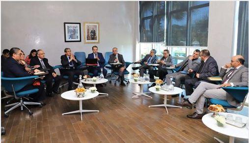 لجنة النموذج التنموي تستمع إلى ممثلي مؤسسة الوسيط