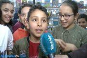 بالفيديو.. أطفال في زيارة لمعرض الكتاب: