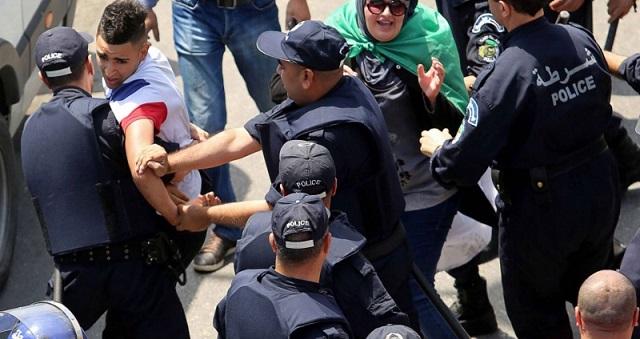 الجزائر.. العفو الدولية تطالب بتحقيق فوري في تجاوزات الحراك